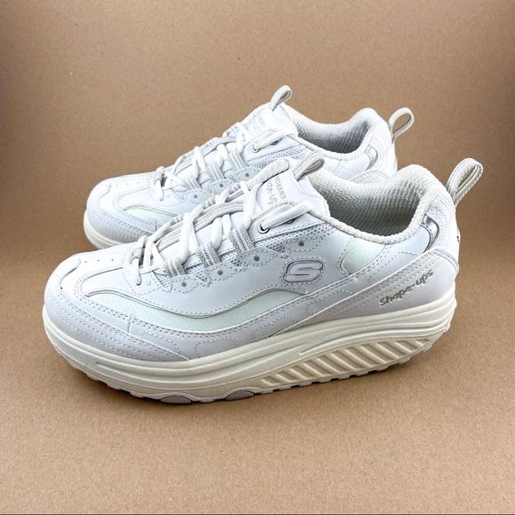 No hagas Abandonado quiero  Skechers Shoes | Skechers Shapeups Metabolize White Toning Shoes | Poshmark